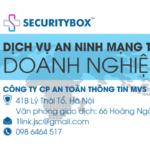 Bảo mật dữ liệu cho doanh nghiệp | SecurityBox