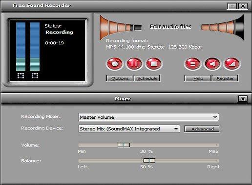 2. Free Sound Recorder