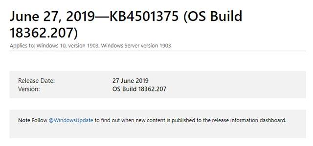 Microsoft] Dịch vụ Rasman bị treo do lỗi cập nhật Windows 10